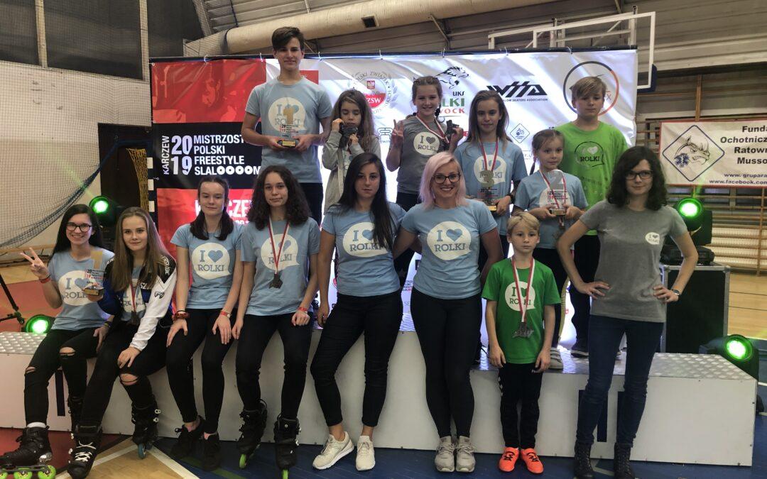 Mistrzostwa Polski 2019 Freestyle Slalom za nami!
